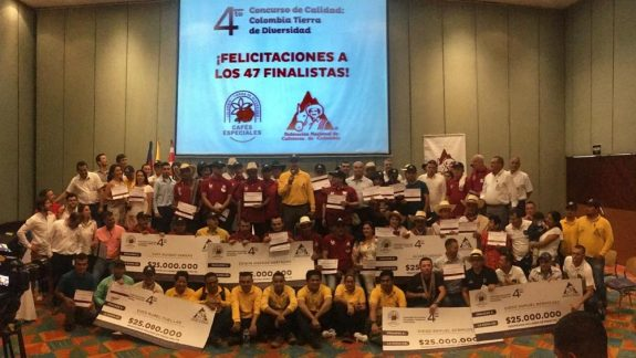 Coffee growers of Caldas, Antioquia, Cauca & Tolima win 4th 'Colombia, Land of Diversity' competition