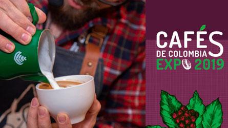 CAFÉS DE COLOMBIA EXPO 2019 ABRE HOY SUS PUERTAS