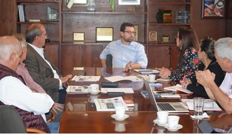 Gobernador de Caldas y Comité de Cafeteros inician reuniones para viabilizar proyectos de fortalecimiento de la caficultura