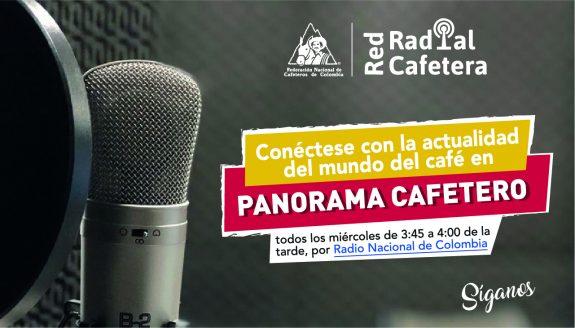 Panorama Cafetero, el programa radial de la Federación Nacional de Cafeteros