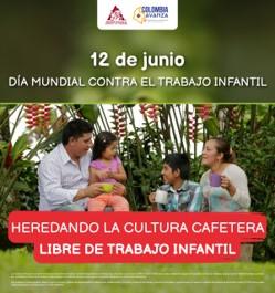La FNC y Colombia Avanza se unen al Día Mundial Contra el Trabajo Infantil