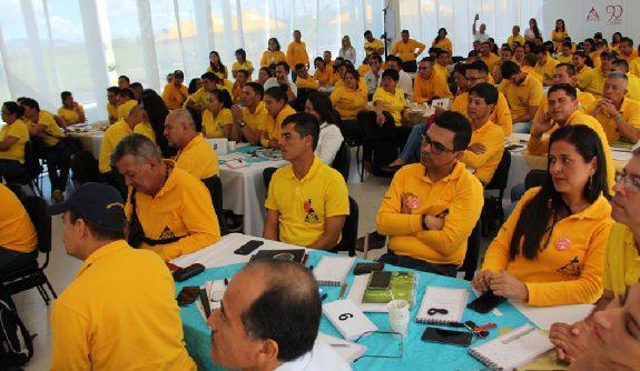 La cumbre de coordinadores de Extensión