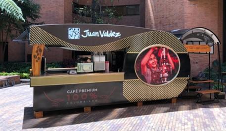 Tienda móvil Juan Valdez nace en la pandemia y alcanza ventas de $50 millones