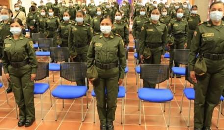 Gracias a apoyo de FNC, se conforma el primer contingente de mujeres auxiliares de policia en Antioquia