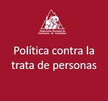 Política contra la trata de personas
