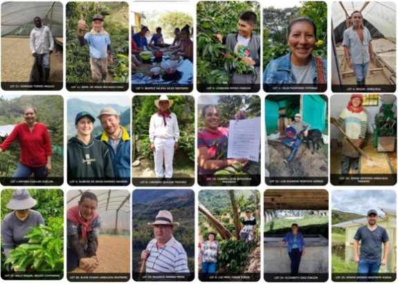 A precio promedio de 12,76 USD/lb se subastan 26 cafés finalistas de sexto concurso Colombia, Tierra de Diversidad