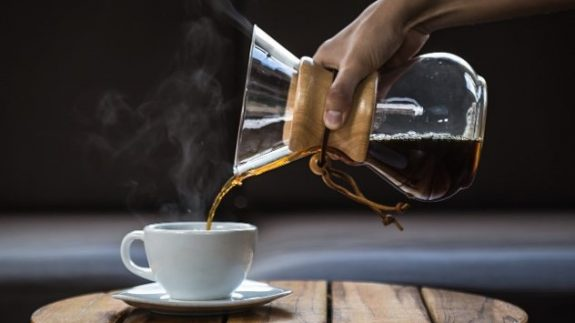 Daily consumption of 2-3 cups of coffee is associated with a lower incidence of covid-19