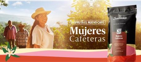 'Mujeres Cafeteras', el nuevo café de Juan Valdez que visibiliza el trabajo y dedicación de las caficultoras colombianas