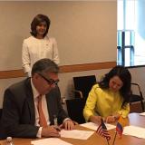 FNC firma Memorando de Entendimiento con USAID