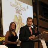 Juan Valdez brand was awarded the 2011 Colombia – Spain prize
