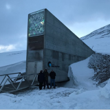 FNC representatives visit the Global Seed Vault in Svalbard