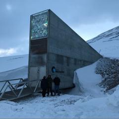 FNC representatives visit the Global Seed Vault in Svalbard