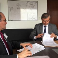 Federación de Cafeteros y Registraduría Nacional firman convenio