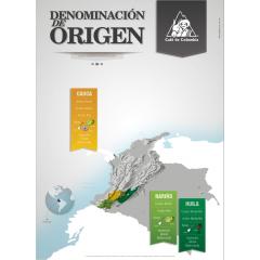 Nariño, Cauca & Huila, regional Denominations of Origin delegated to the FNC