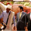 Primer Ministro de Japón visita a Café de Colombia