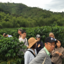 President of Coca-Cola Japan Travels to the Origin of Café de Colombia