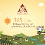 365 días trabajando por los caficultores colombianos