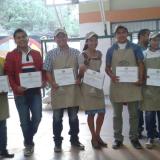 Primer concurso de jóvenes catadores de café en el Municipio de San Bernardo Norte del Departamento
