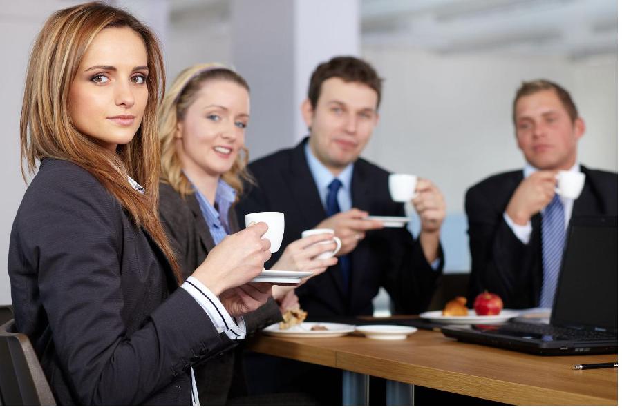 B b es la importancia de un buen caf en el lugar de trabajo for La oficina importancia