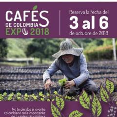 Llega Cafés de Colombia Expo, con la más amplia oferta de cafés especiales