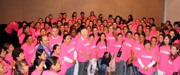 'Camineras' con representantes del DPS, Gobernación y